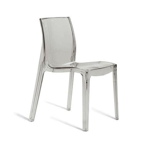 polycarbonat stuhl monoblock stuhl aus transparentem polycarbonat idfdesign