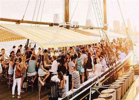 lobster on a boat nyc all the boats you can drink on in nyc food purewow new