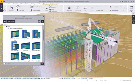 building drawing tool 3d construction modelling building design software tekla structures