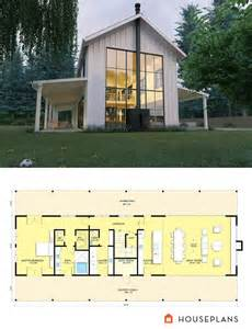 Contemporary Farmhouse Floor Plans Best 25 Barn House Plans Ideas On Pole Barn