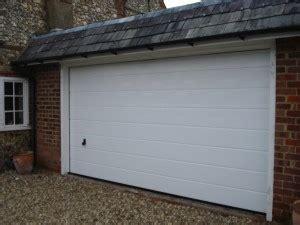 hormann insulated sectional garage doors installed
