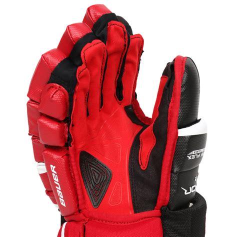 Overall Maroon Sr bauer vapor apx2 sr hockey gloves