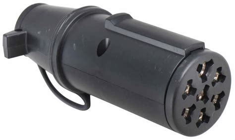 hopkins trailer connector adapter 7 pole round pin to 6