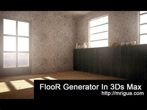 Floor Generator by 3ds Max Floor Generator Tutorial