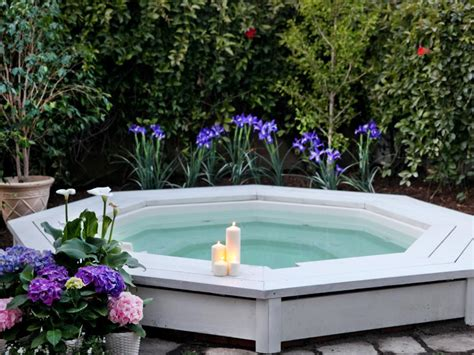 backyard spas sexy hot tubs and spas hgtv