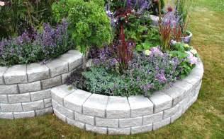 deerwood landscaping segmental wall system garden