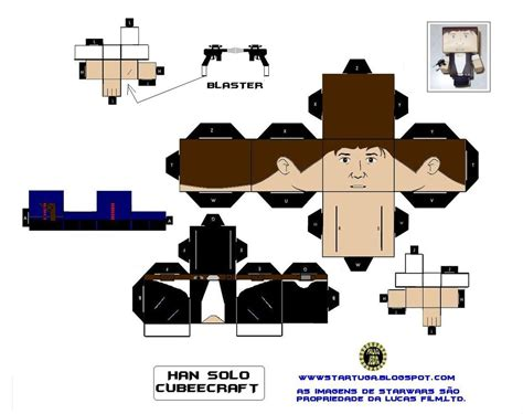 Wars Papercraft - cubeecrafts paper toys and papercraft