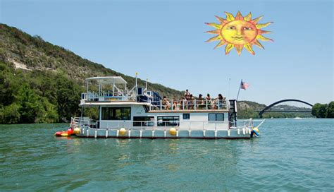 party boat tours sunshine machine boat tours party boat lake austin texas
