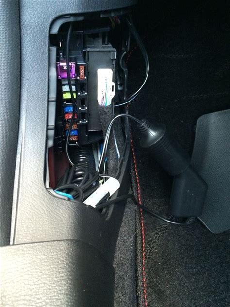 Bm103white bm ドライブレコーダー ヒューズbox電源取付 マツダ アクセラスポーツ ハッチバック by gajyi みんカラ