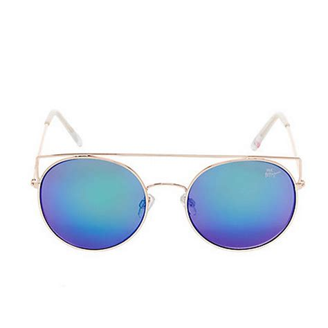 Colored Lens Sunglasses betsey johnson top it colored lens sunglasses green