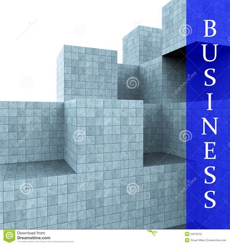 Tme Disigner Lovezi Building Blocks business blocks design means building activity and construction stock illustration image 54518702