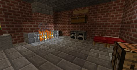 How Do I Make A Fireplace In Minecraft by A Brick House With Fireplace Minecraft Project