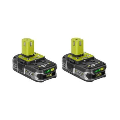 18 volt one plus lithium plus compact batteries 2 pack