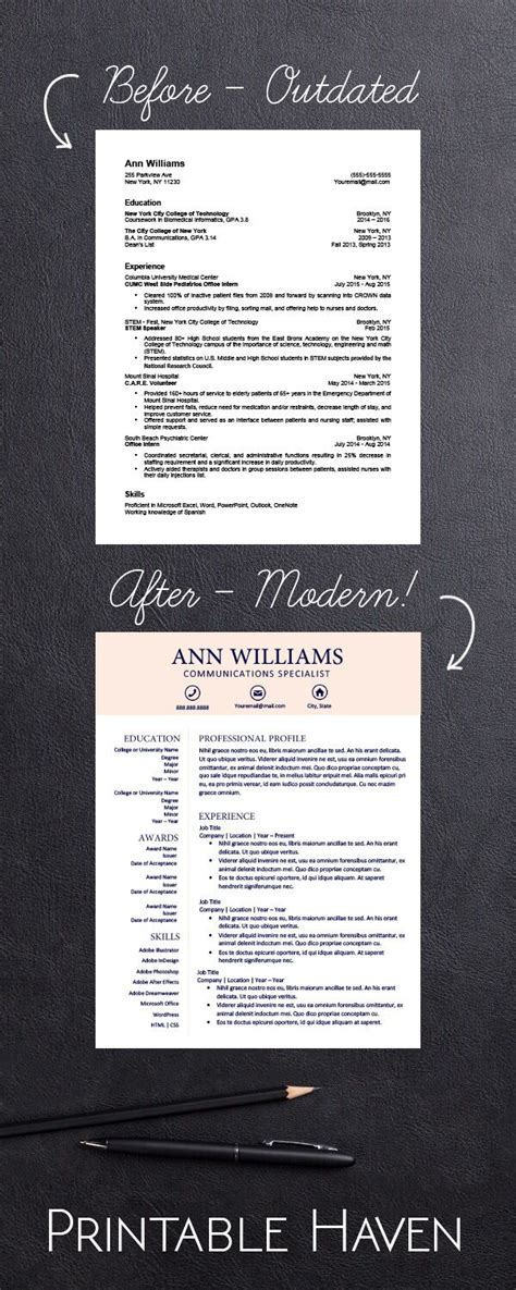 17 best ideas about resume templates on resume