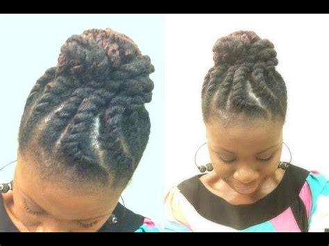 natural hair|jumbo two strand flat twist with marley hair