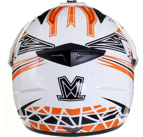 motocross helmet with visor dual sport motocross adventure crash helmet with visor