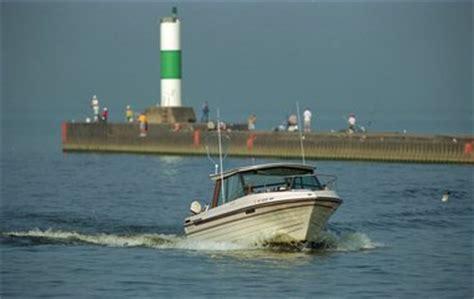 boat crash muskegon lake michigan salmon fishery at risk without stocking