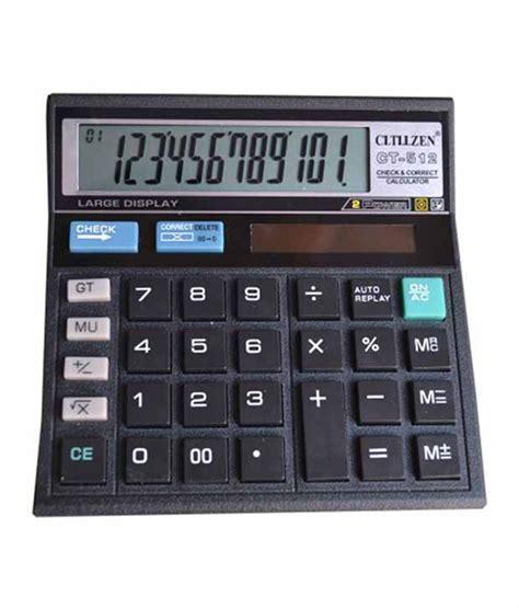 cltllzen basic calculator buy at best price in