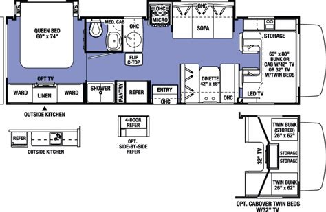 forest river floor plans 2017 forest river sunseeker 2860dsf cing world of