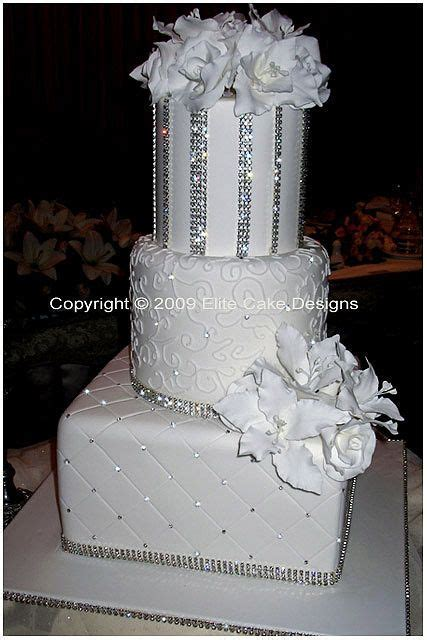 17 Best images about Wedding Cake, Bling on Pinterest