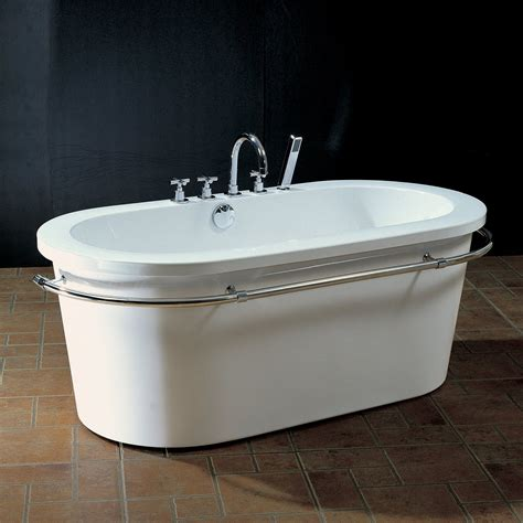 acrylic soaking bathtub aquatica purescape 303 freestanding acrylic soaking