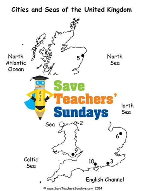 map uk ks1 cities and seas of the uk ks1 lesson plan map worksheet