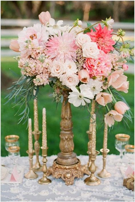 Rustic Vintage Styled Wedding Centerpieces Weddbook Rustic Vintage Wedding Centerpieces