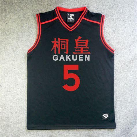 kuroko no basket jersey design anime kuroko no basuke basket tops school basketball team