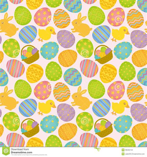easter pattern background easter seamless pattern stock images image 36545744