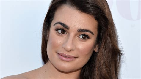 In Style Home Decor by Lea Michele S Brand New Brows Are Something To Behold