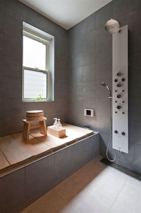hidden bathroom compact zen home full of hidden meanings modern house