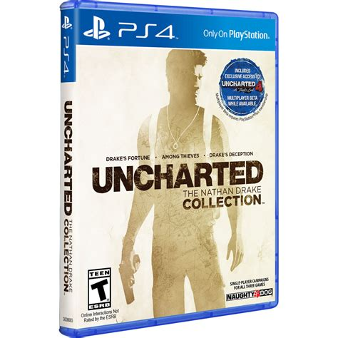 Ps4 Uncharted Collection by Sony Uncharted The Nathan Collection Ps4 3000683 B H