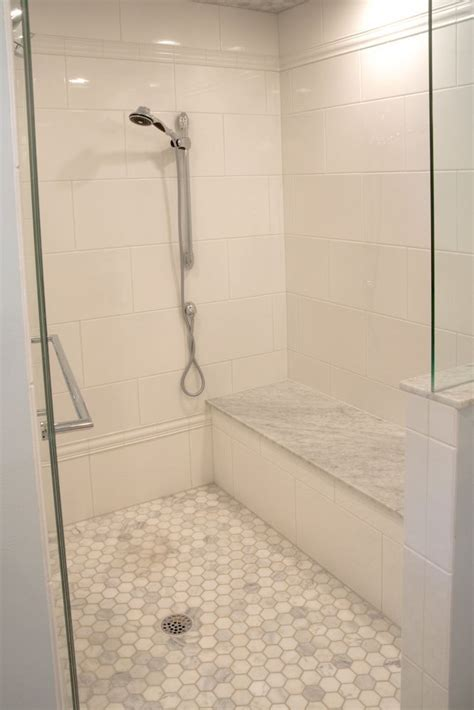 Bathroom Shower Floor Tile 1000 Ideas About Shower Tiles On Pinterest Tile Bathroom And Bathroom Showers