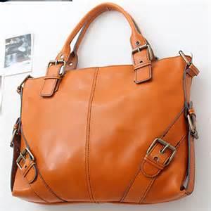 New leather handbag shoulder women bag brown black hobo tote purse