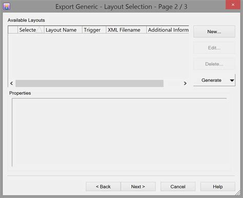 layout editor definition exporting seismic all data generic