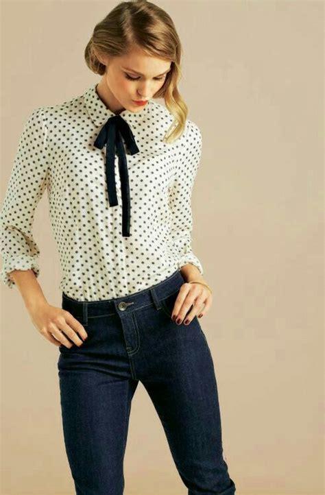 Dress Blanc Brukat best 25 polka dot blouse ideas on polka dot