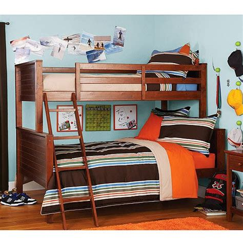 Where Can You Buy Your Zone Twin Over Full Bunk Bed Walnut Where To Buy A Bunk Bed
