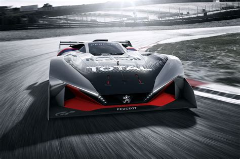 new peugeot sports car peugeot l750 r hybrid vision coming to gran turismo sport