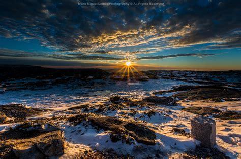 Friday Feature Photo: Sunset over Serra da Estrela, Portugal