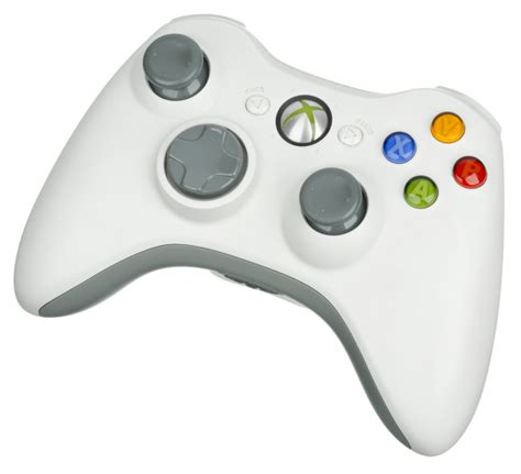 Stick Xbox360 Wireless Controller For Windows 1 file xbox 360 wireless controller white png