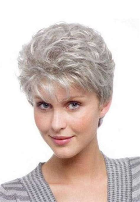 cheap haircut elk grove 7 short pixie gray hair pinteres