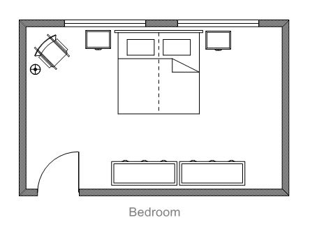 bedroom blueprints ezblueprint