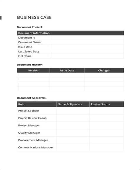 13 Business Case Templates Pdf Doc Free Premium Templates Simple Business Template