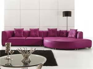 purple leather sofa living room furniture sugarthecarpenter