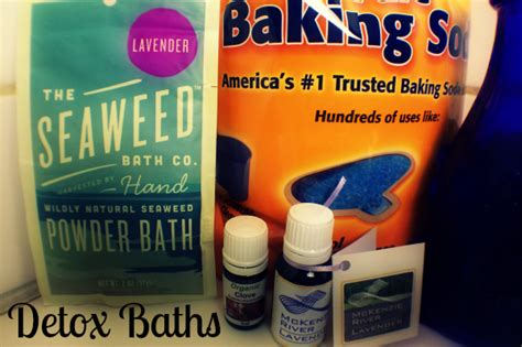 Detox Bath Ingredients by How To Take A Detox Bath A K A Why You Should Be Taking