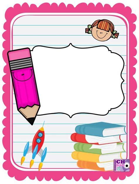 portadas 11 imagenes educativas fichas de primaria portadas para cuadernos