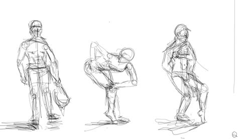 2 Minute Sketches by Techniques Part 2 Gesture Drawing Youth Are Awesome