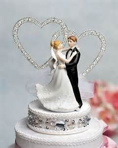 and groom cake toppers and groom rhinestone hearts cake topper wedding collectibles
