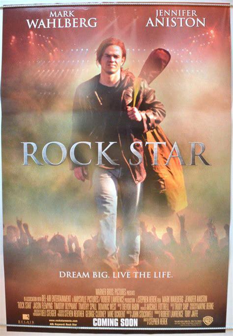 rock star original cinema  poster  pastposters