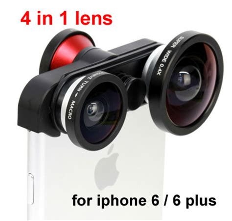 mobile phone 4 in 1 front camera fish eye + back fisheye